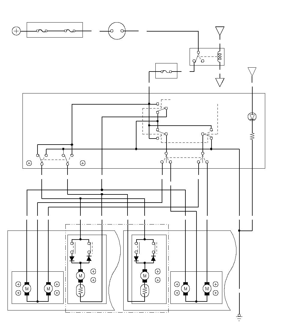 Power Mirrors Circuit Diagram Honda Mirror